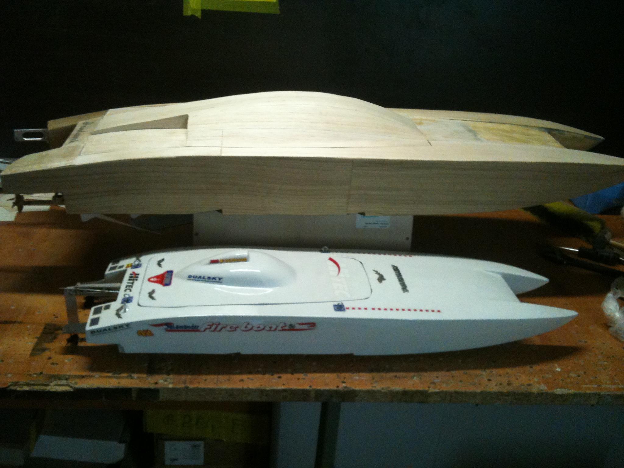 Модель скоростного катера своими руками 44